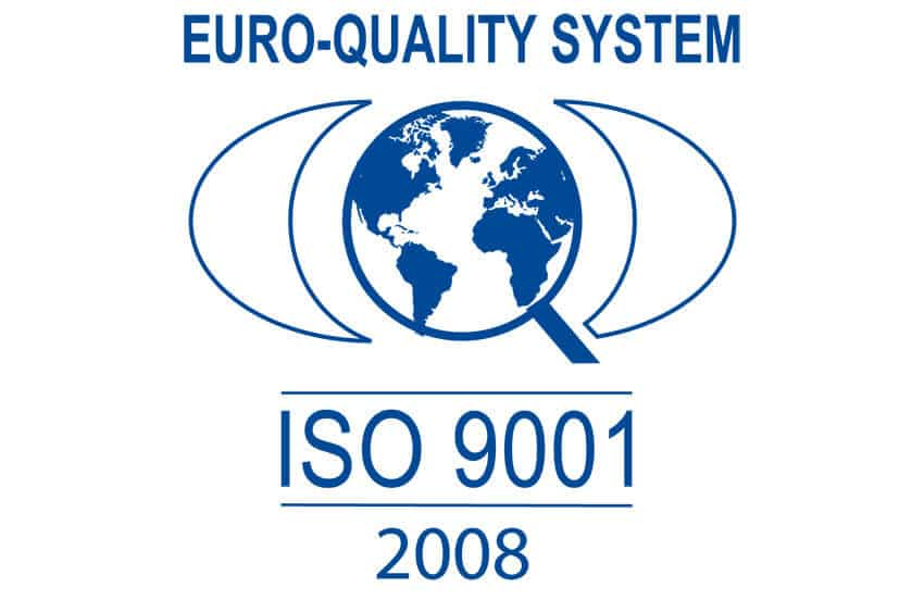 2015 - DMM obtains ISO 9001 certification version 2008