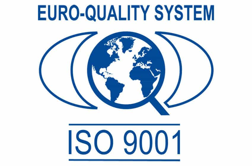 1998 - DMM obtains ISO 9001 certification