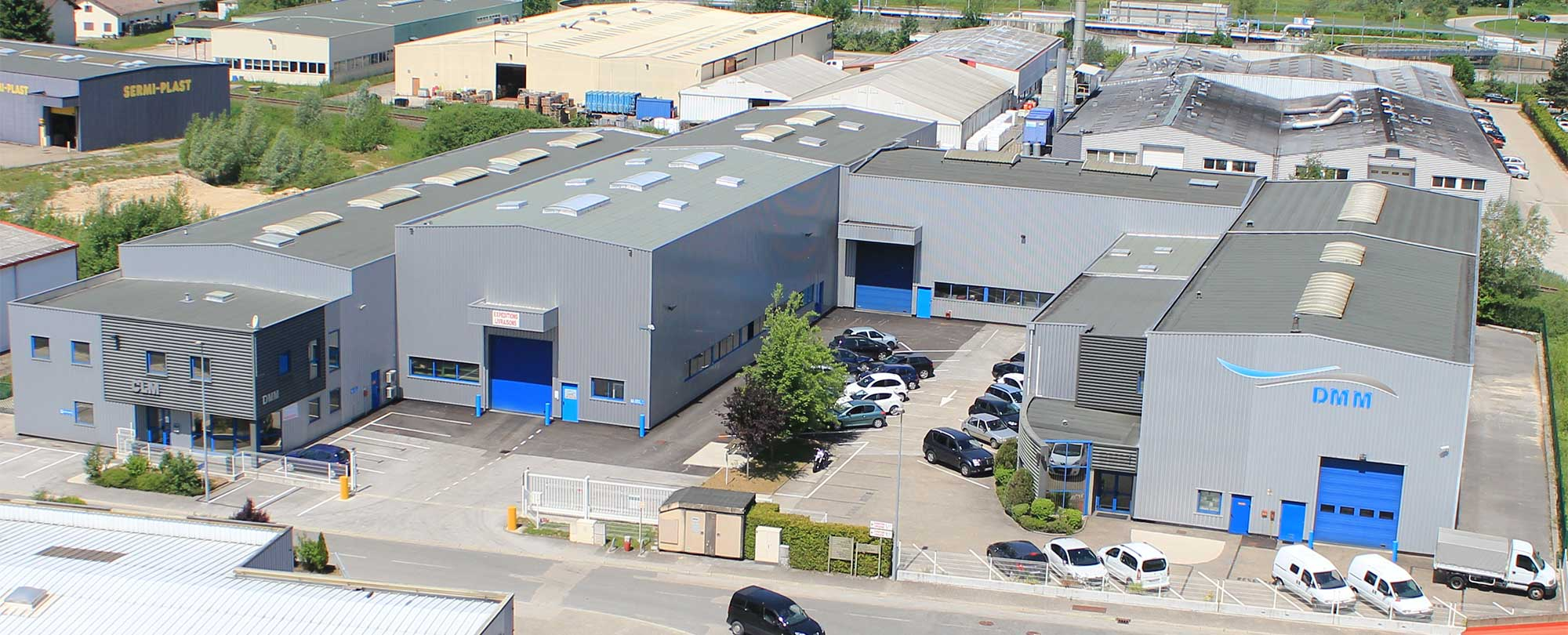 DMM CLM - specialist in the production of large metal molds